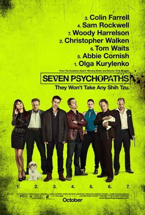 7 Kẻ Tâm Thần - Seven Psychopaths (2012) Poster