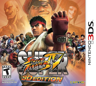 Super Street Fighter IV: 3D Edition USA 3DS GAME [.CIA]