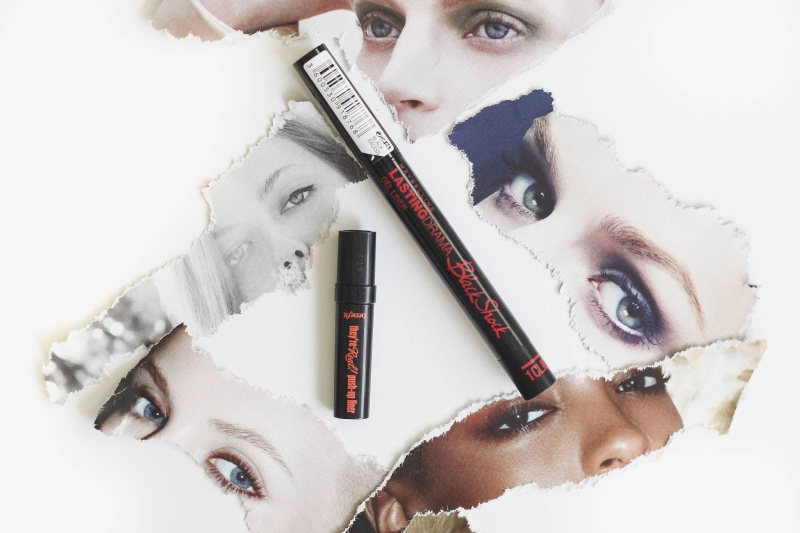 Benefit They're Real V's Maybelline Lasting Drama Liner Pen