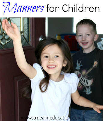 manners for children, being shy