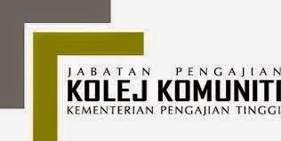 Jawatan Kerja Kosong Kolej Komuniti Taiping logo www.ohjob.info disember 2014