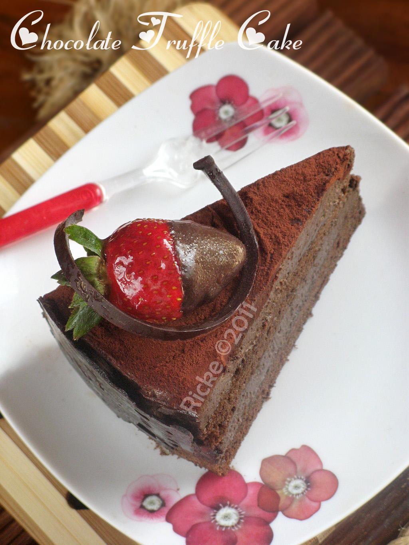 Just My Ordinary Kitchen MY 5th ANNIVERSARY CAKE CHOCOLATE