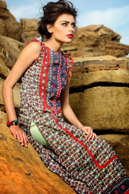 Khaadi Summer Lawn Dresses Collection 2014