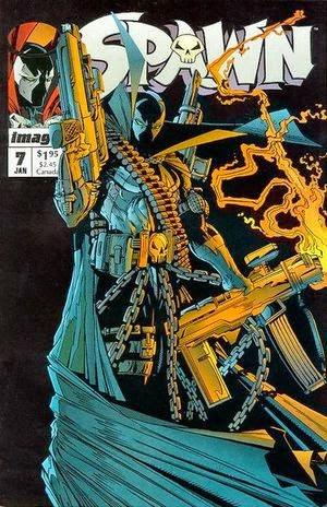 Spawen #7 comic cover