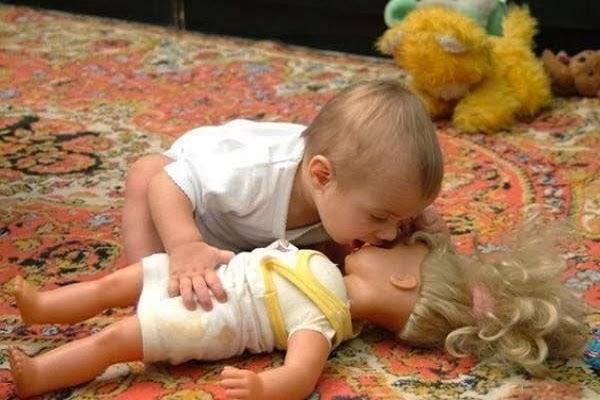 Joli photo bébé  humoristiques