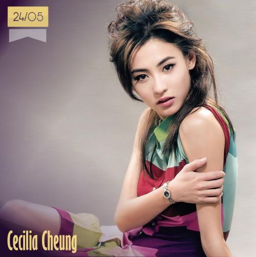 24 de mayo | Cecilia Cheung | Info + vídeos