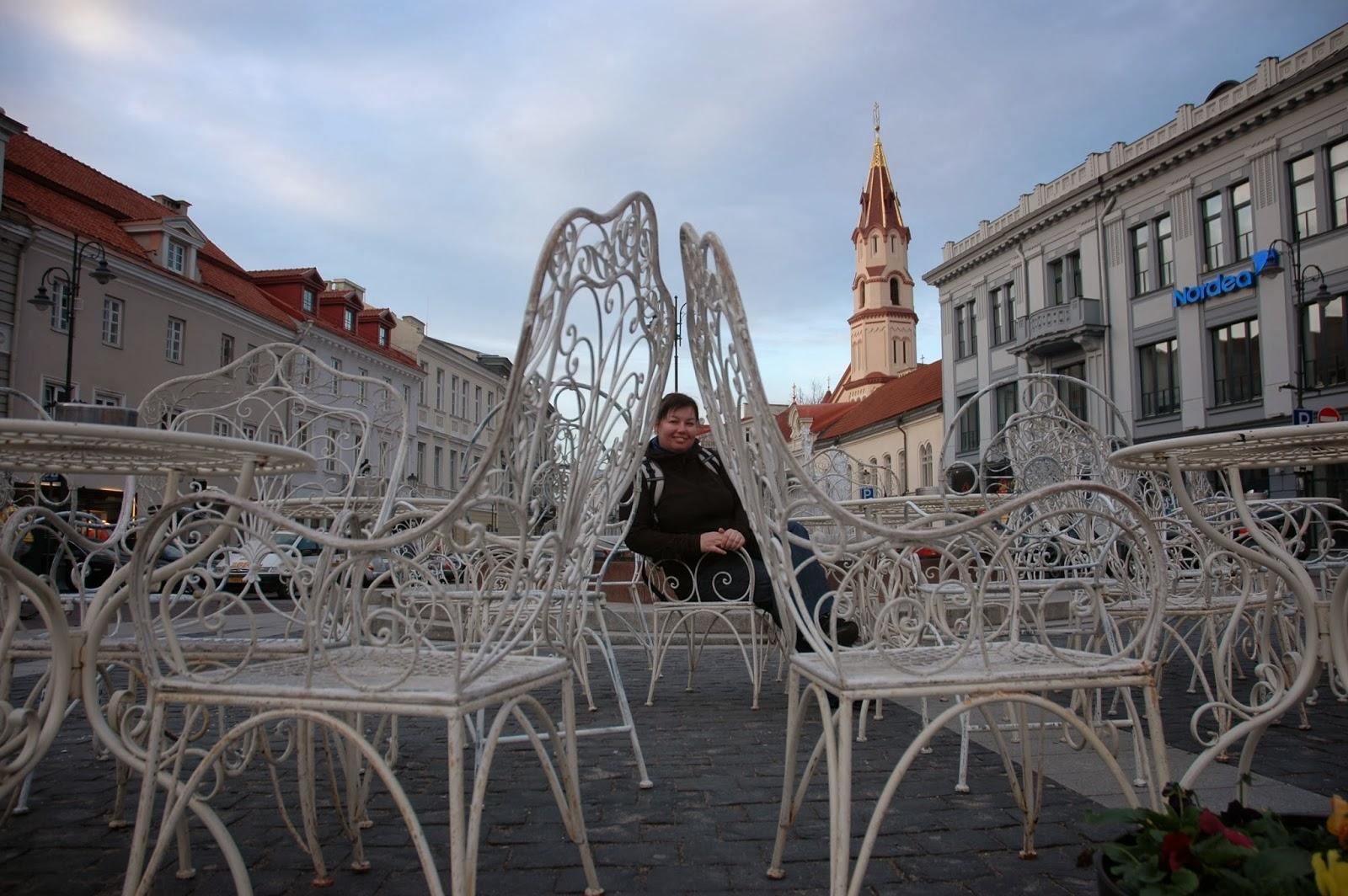 rynek w Wilnie