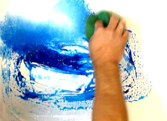 Abstract Art Paintings Abstract Art Painting Step