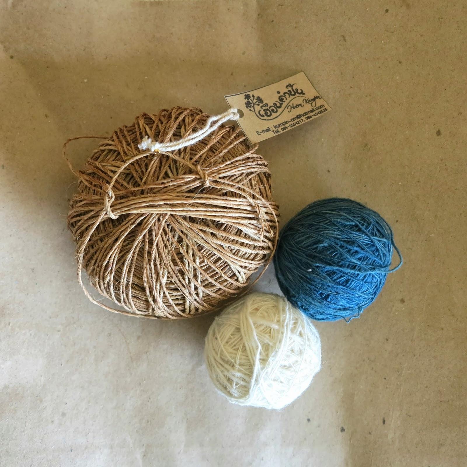 ByHaafner, yarn, handspun, hemp
