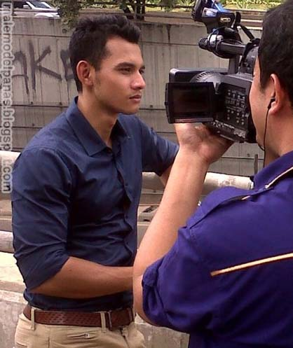 Indonesian news anchor