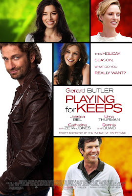 Gerard Butler, Playing for Keeps, Jessica Biel, Catherine Zeta-Jones, Uma Thurman, Dennis Quaid