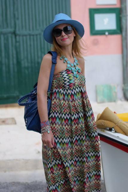 summer look, panama hat, lulu love maxi dress, Fashion and Cookies