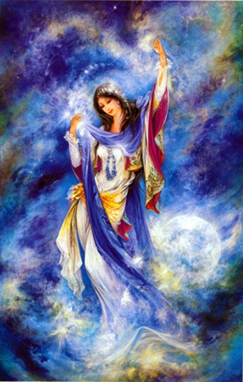 Blue Moon Goddess: