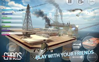 تحميل لعبة C.H.A.O.S Tournament APK 1.2.2 للاندرويد مجاناً محاكاة واقعية لمروحية هجومية رائعة