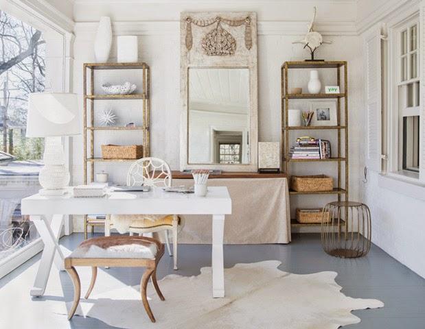 At home with lisa sherry e ron royals e loro casa for Design tradizionale casa georgiana