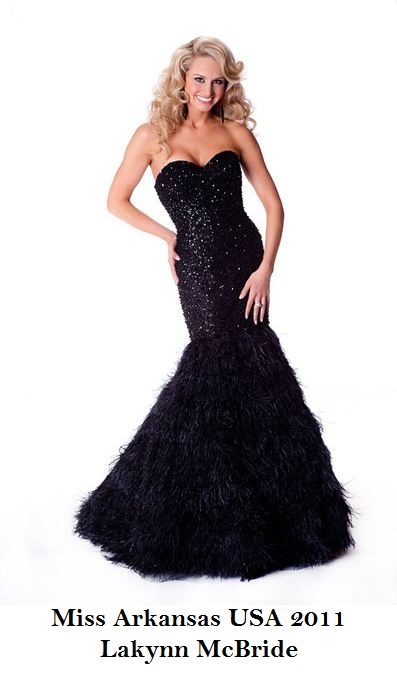 Miss USA 2011 Contestants Official Gown Portraits