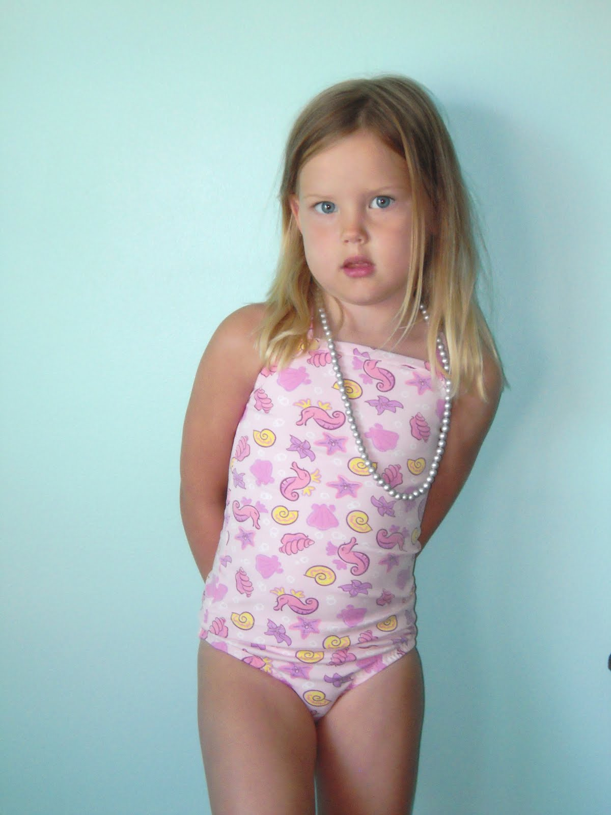 Little Girl Swimsuit