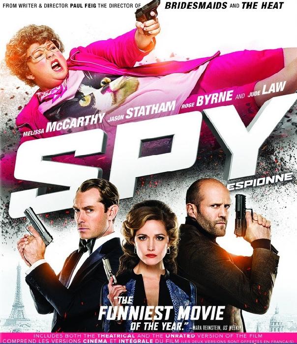SPY (2015) สปาย [MASTER][1080P HQ] [เสียงไทยมาสเตอร์ 5.1]