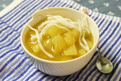 Hot Cassava Sweet Soup (Chè Sắn Nóng)
