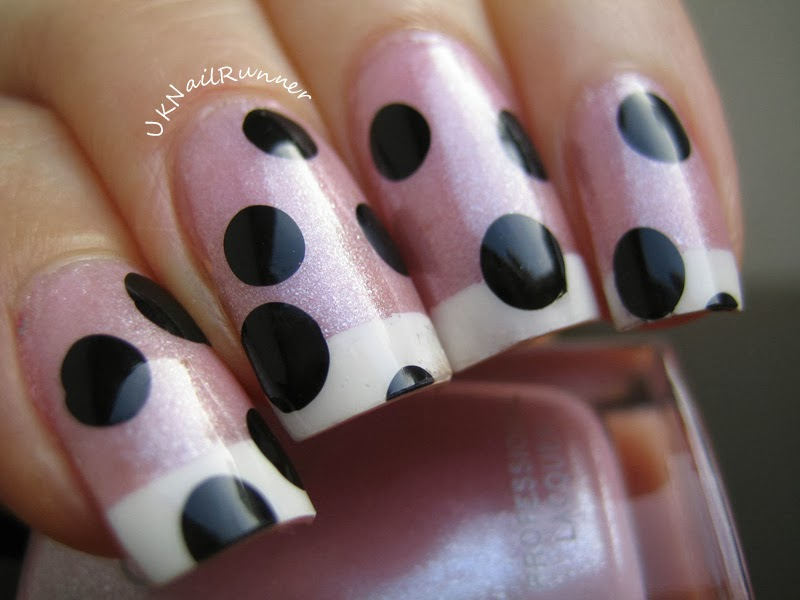 UKNailRunner Funky French Manicure