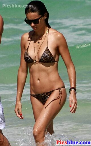 Adriana Lima bikini photos stills and pictures