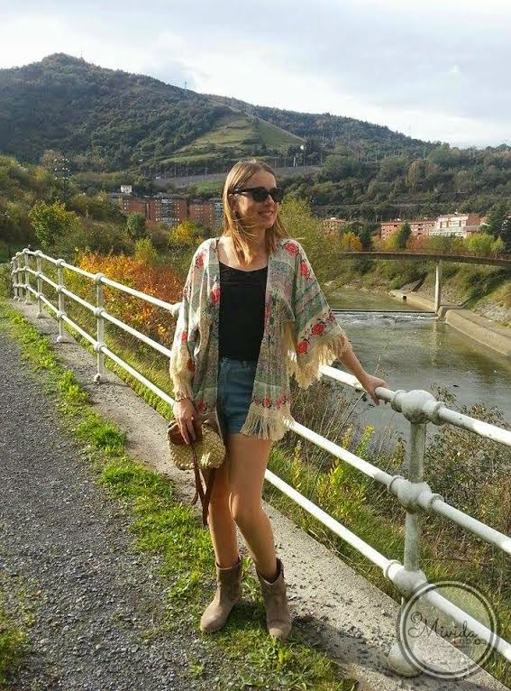 Outfit Boho-Chic