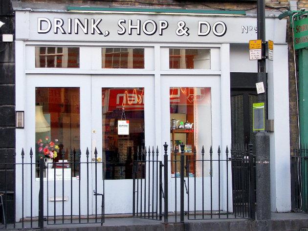 bonnes adresses restaurants Londres Drink Shop & Do lexie blush