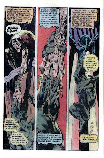 Swamp Thing v1 #3 dc comic book page art by Bernie Wrightson