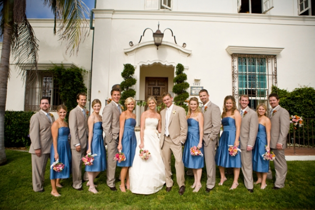Fashion Clothing: Blue Bridesmaid Dresses (