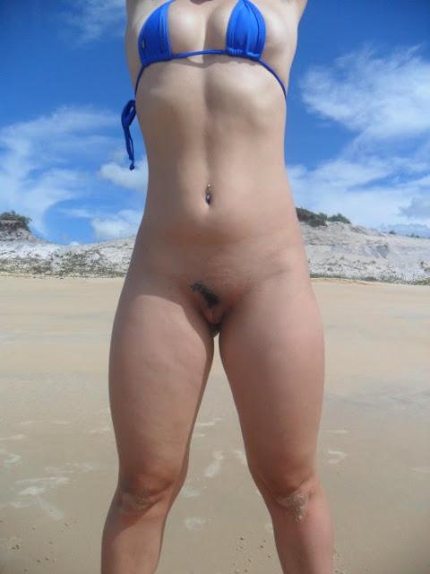 Cachorra Na Praia