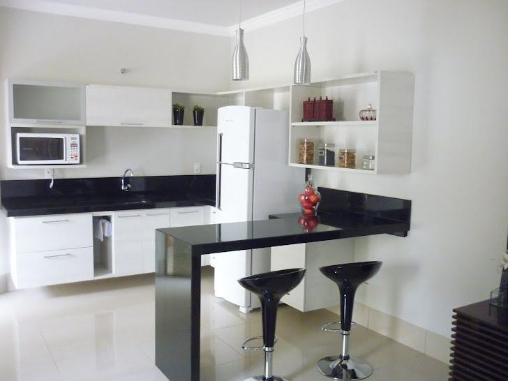 Cozinha bilateral