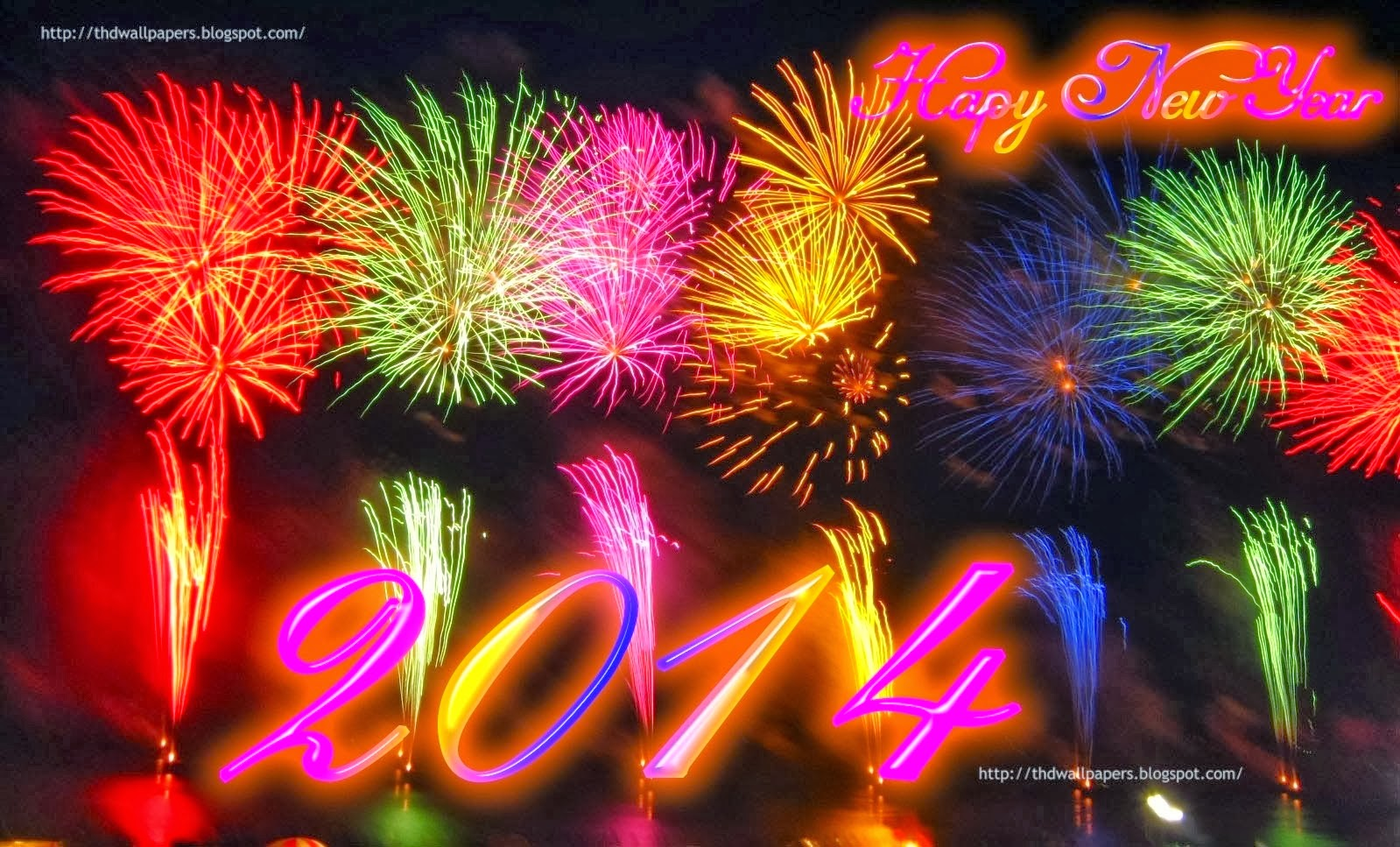 happy new year 2014 wallpapers fireworks download hd