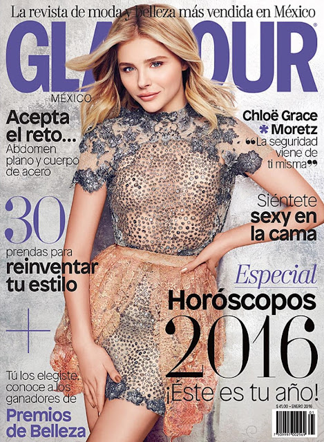 Actress, Model, @ Chloë Grace Moretz - Glamour Mexico, January 2016