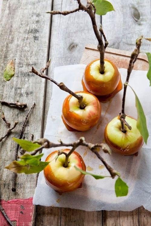 otoño manzanas recetas