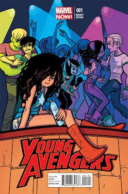 Young Avengers # 1 - Kieron Gillen Jamie McKelvie