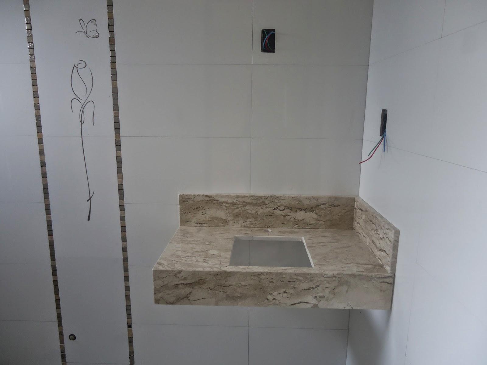 não está instalada foi colocada somente p as fotos; falta rejuntar #5B5044 1600x1200 Acabamento P Banheiro