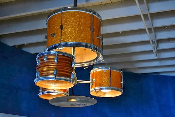 Create Unique Diy Lamp From Drum Set Unique Homemade Ideas Unique And Do It Yourself