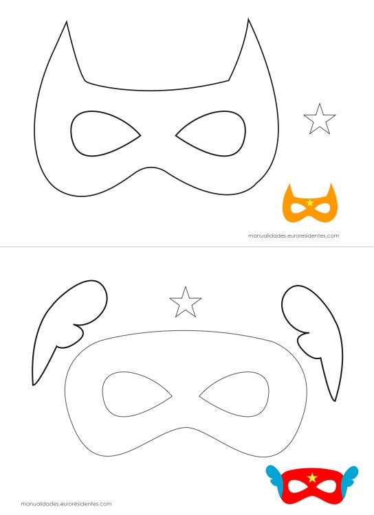 Arte de Ensinar e Aprender: Máscaras para imprimir