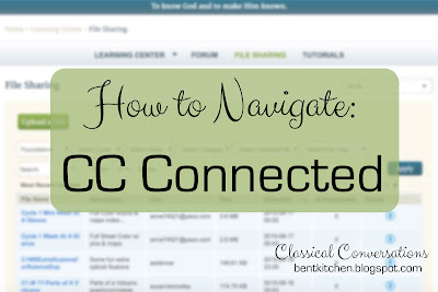 How To Navigate CC Connected & Organize Your Files :: bentkitchen.blogspot.com