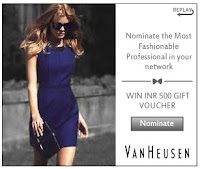 Most Fashionable Professional (Van Heusen)