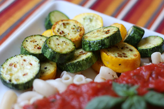 Simple Sauteed Summer Squash recipe by Barefeet In The Kitchen