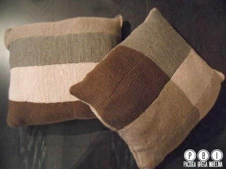 Cuscini a maglia con la addi express paciuga brega e for Regalo a chi se lo viene a prendere