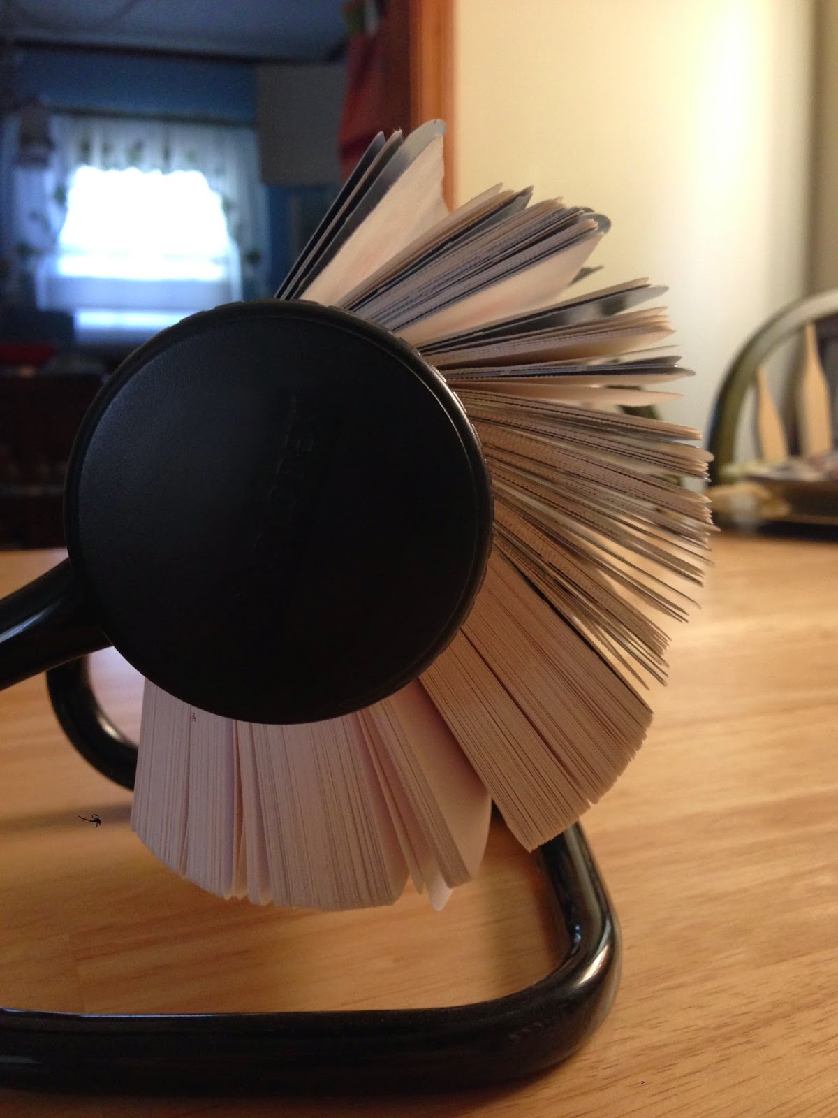 has anyone ever used a rolodex for a craft project