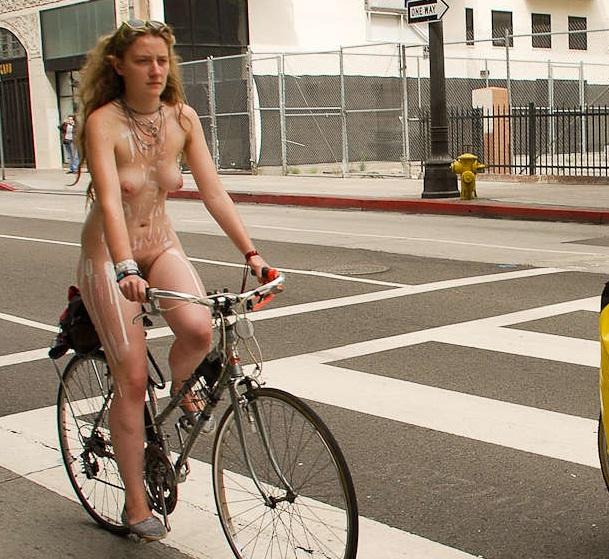 Angeles los world naked bike ride