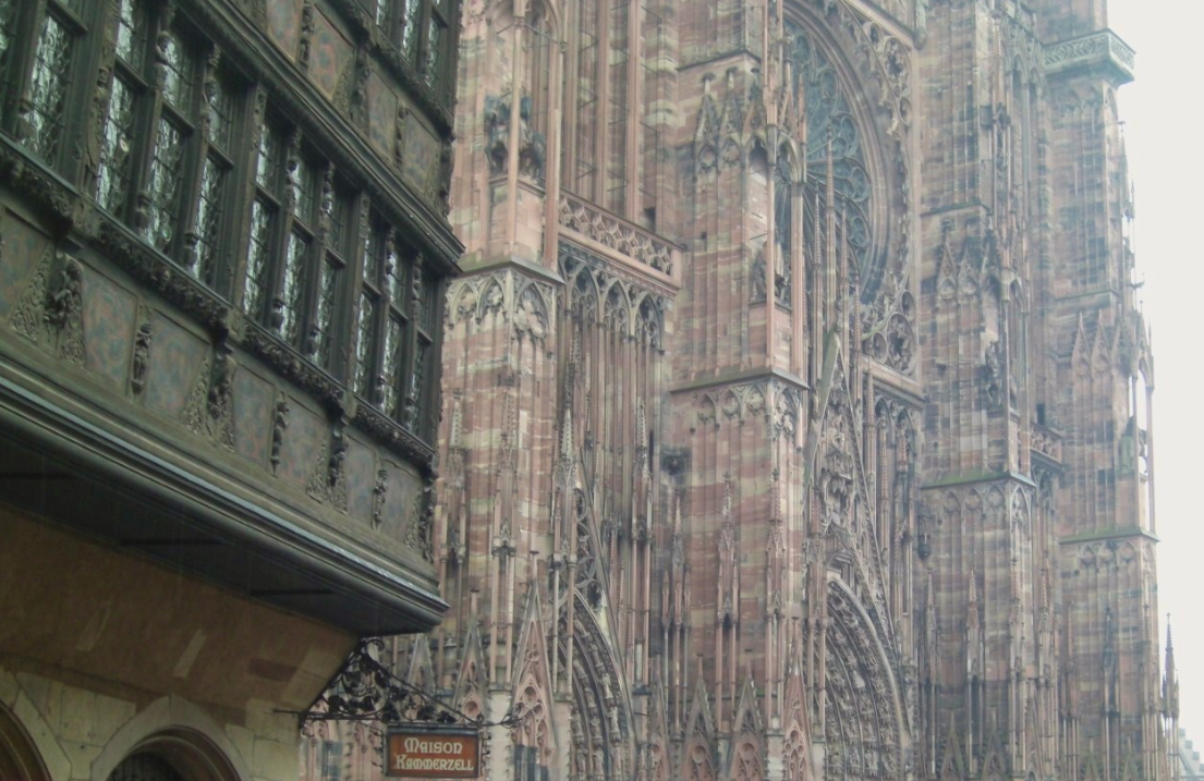 Beautiful interesting historic buildings in europe for K architecture strasbourg