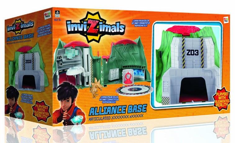 JUGUETES - INVIZIMALS - Base de la Alianza  Producto Oficial | IMC Toys 30091 | A partir de 3 años