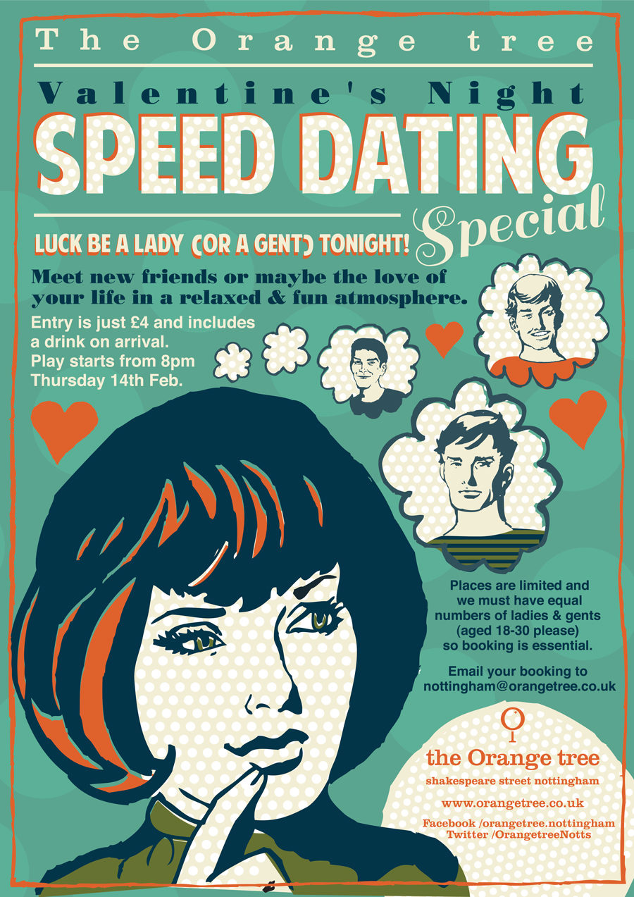 orange tree speed dating nottingham