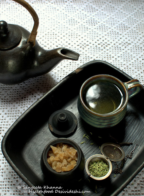 recipe of fennel tea