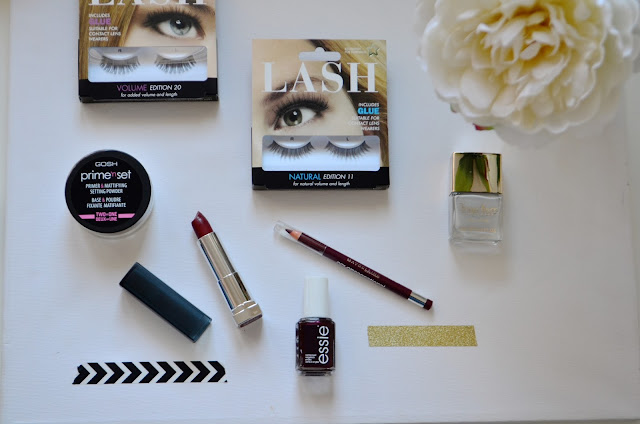 Beauty, Make up, Drugstore, Superdrug, super drug haul, Drugstore Haul, false lashes, a/w make up, a/w beauty products, Maybelline, tanya burr, Essie, Gosh,