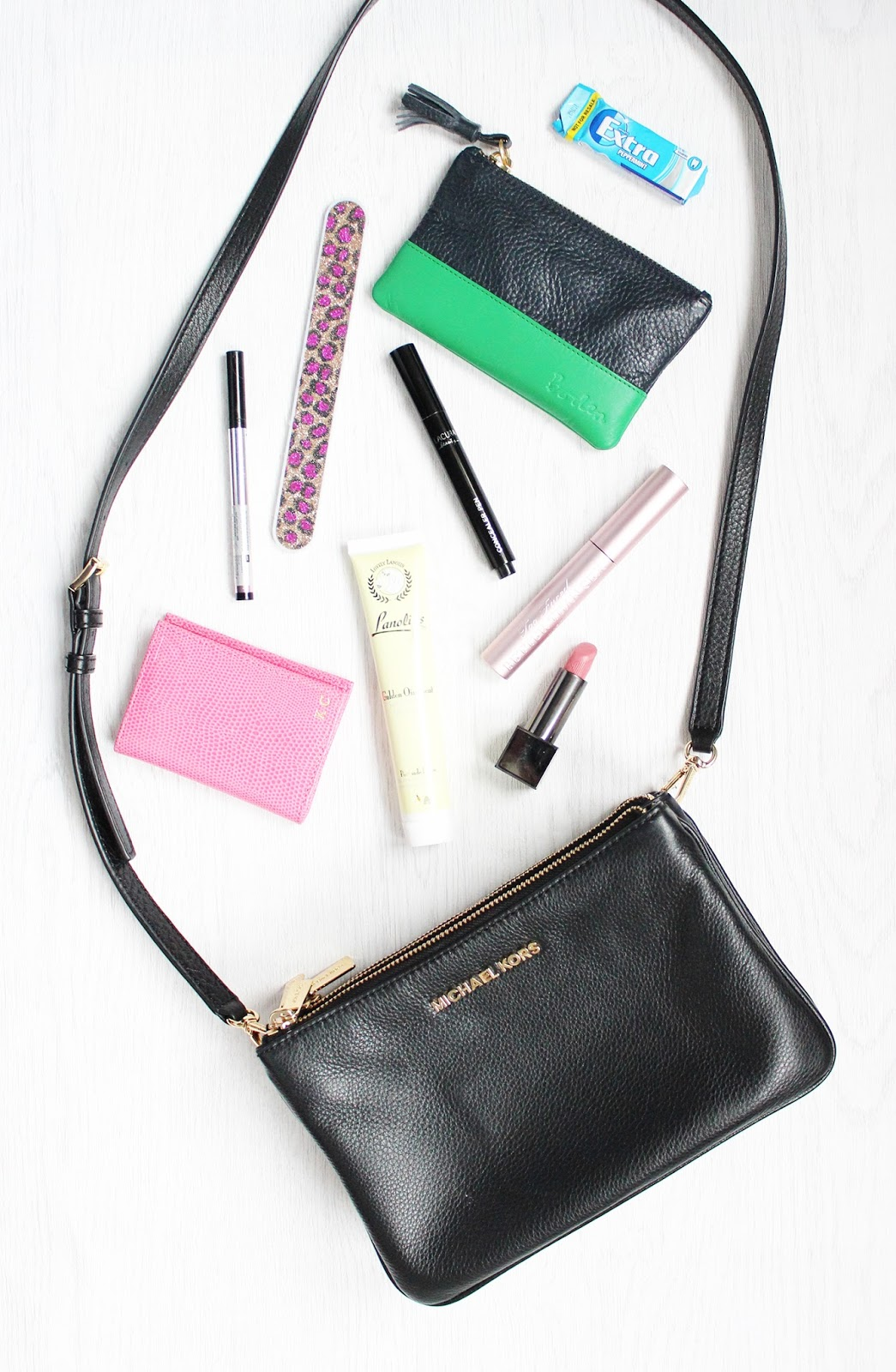 What's in my Handbag - the winter edit
